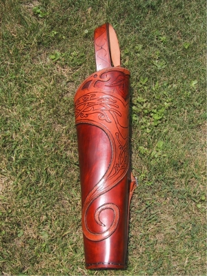 Back style quiver