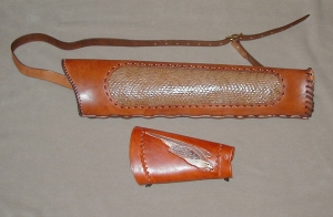 Back style with arm guard